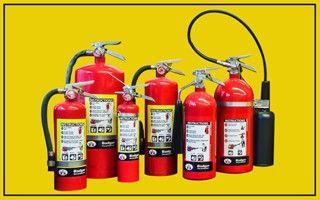 С помощью каких огнетушителей можно тушить электропроводку
